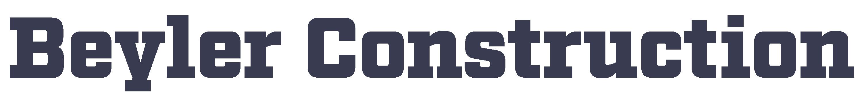 Beyler Construction Logo
